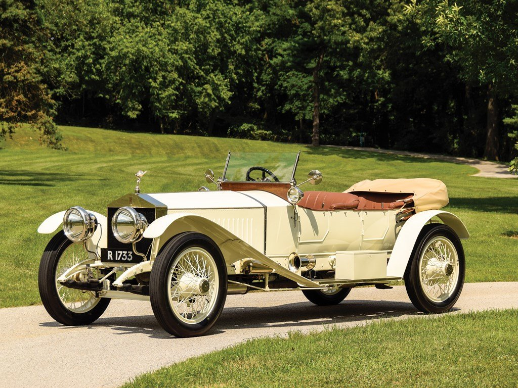 1913 Rolls-Royce 4050 HP Silver Ghost Sports Tourer by Barke For Sale by Auction (picture 1 of 6)