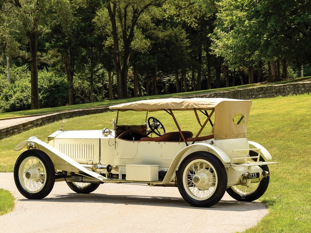 1913 Rolls-Royce 4050 HP Silver Ghost Sports Tourer by Barke For Sale by Auction (picture 2 of 6)
