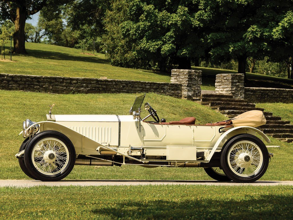 1913 Rolls-Royce 4050 HP Silver Ghost Sports Tourer by Barke For Sale by Auction (picture 5 of 6)