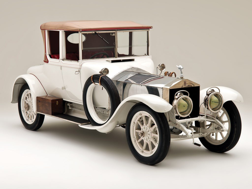 1911 Rolls-Royce 4050 HP Silver Ghost Drophead Coupe by Bark For Sale by Auction (picture 1 of 6)