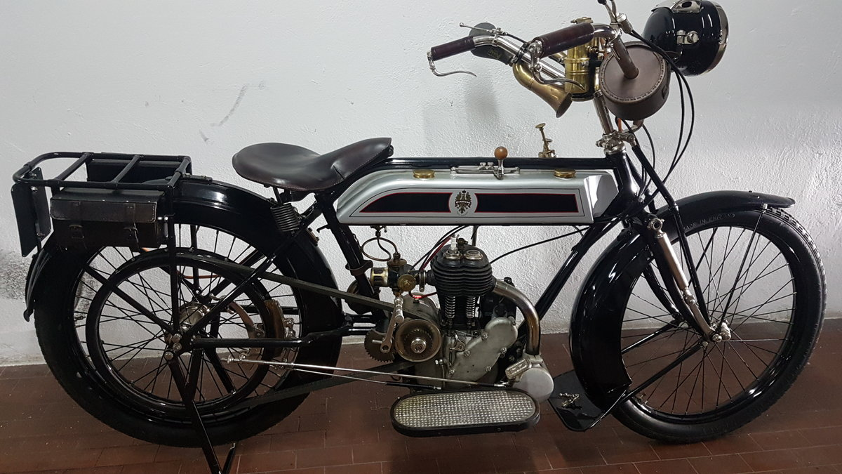 1914 Moto Bianchi C75A -500cc For Sale (picture 1 of 6)