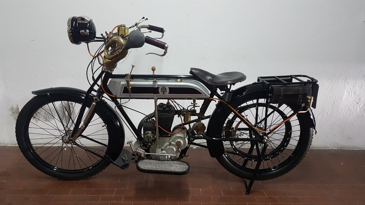 1914 Moto Bianchi C75A -500cc For Sale (picture 2 of 6)
