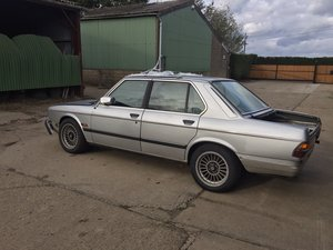 1983 Alpina B9 3.5 (291) 1-64 RHD Restoration Project For Sale