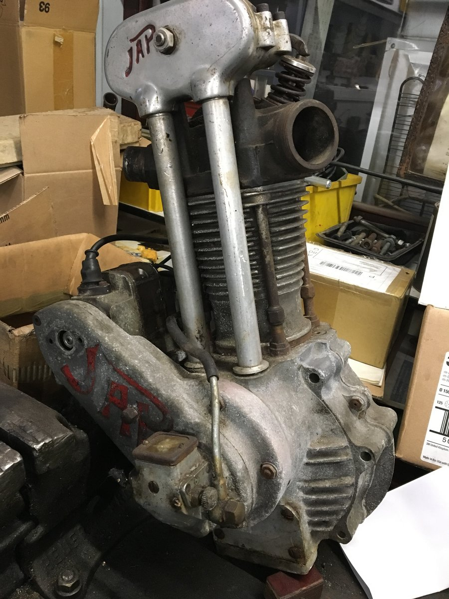 1935 JAP ENGINE'S SPORT AND SPEEDWAY YEARS 25-35 For Sale (picture 3 of 6)