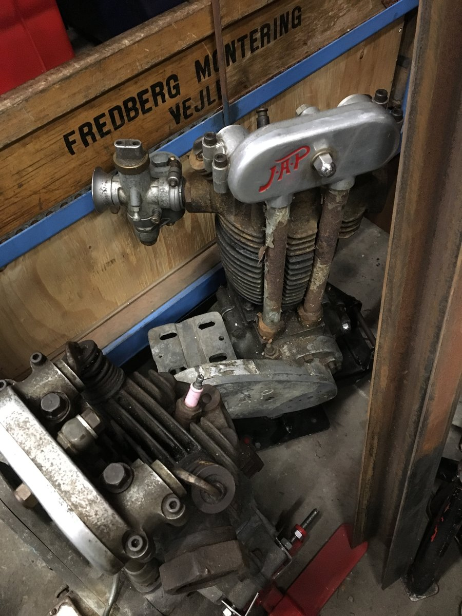 1935 JAP ENGINE'S SPORT AND SPEEDWAY YEARS 25-35 For Sale (picture 4 of 6)