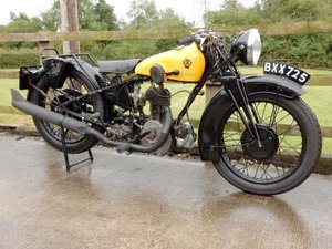 1935 Chater-Lea 545cc 'AA Patrol' For Sale