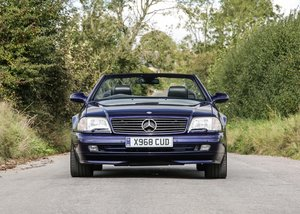 2000 Mercedes-Benz SL320 Roadster Designo Edition