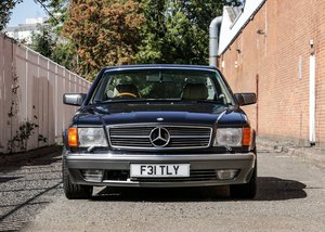 1989 Mercedes-Benz 560 SEC by Lorinser