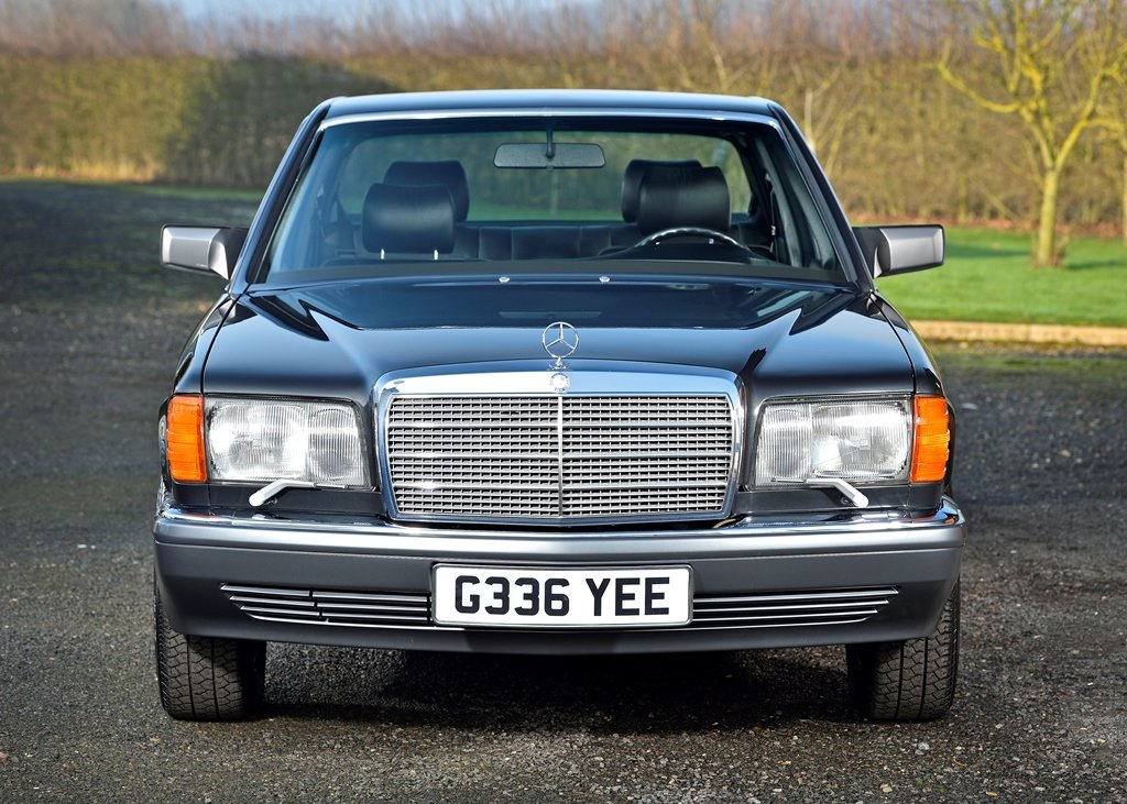 1989 Mercedes-Benz 420 SEL SOLD by Auction (picture 1 of 6)