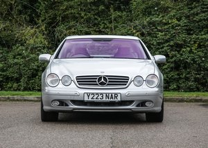 2001 Mercedes-Benz CL600 SOLD by Auction