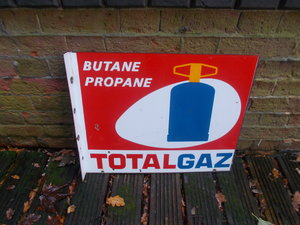 1930 VINTAGE FRENCH ENAMEL SIGN   For Sale