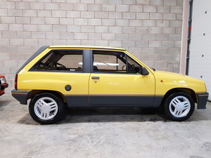 1986 Vauxhall Nova 1.3 SR MK1, Jamaica Yellow...Superb! For Sale