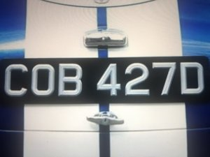 COB427D Registration  For Sale