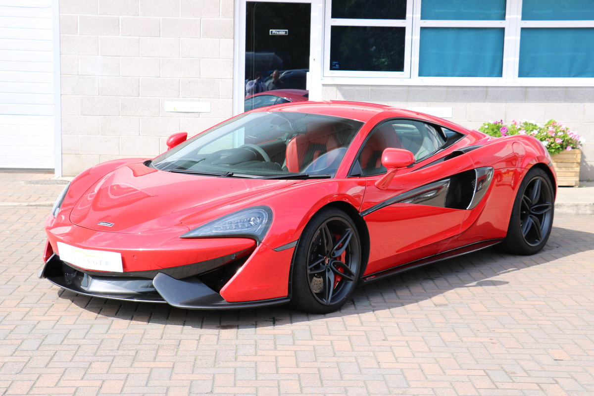 2016 McLaren 570S - Vermillion Red For Sale (picture 1 of 6)