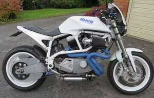 2002 BUELL WHITE LIGHTNING X1 SPECIAL. For Sale