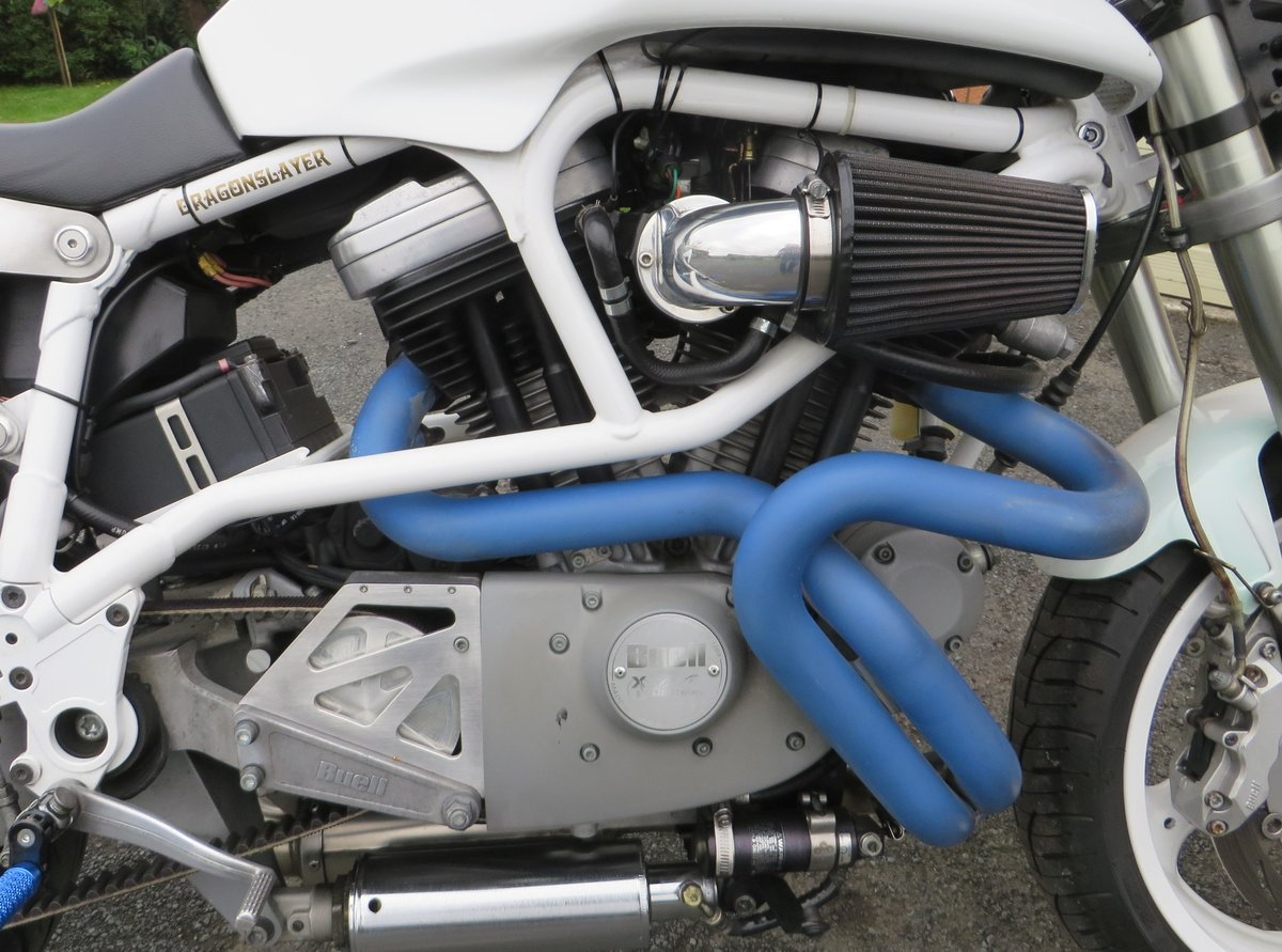 2002 BUELL WHITE LIGHTNING X1 SPECIAL. For Sale (picture 4 of 6)