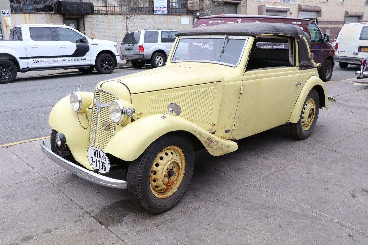 1939 Adler Trumpf Junior Convertible #22761 For Sale (picture 1 of 5)
