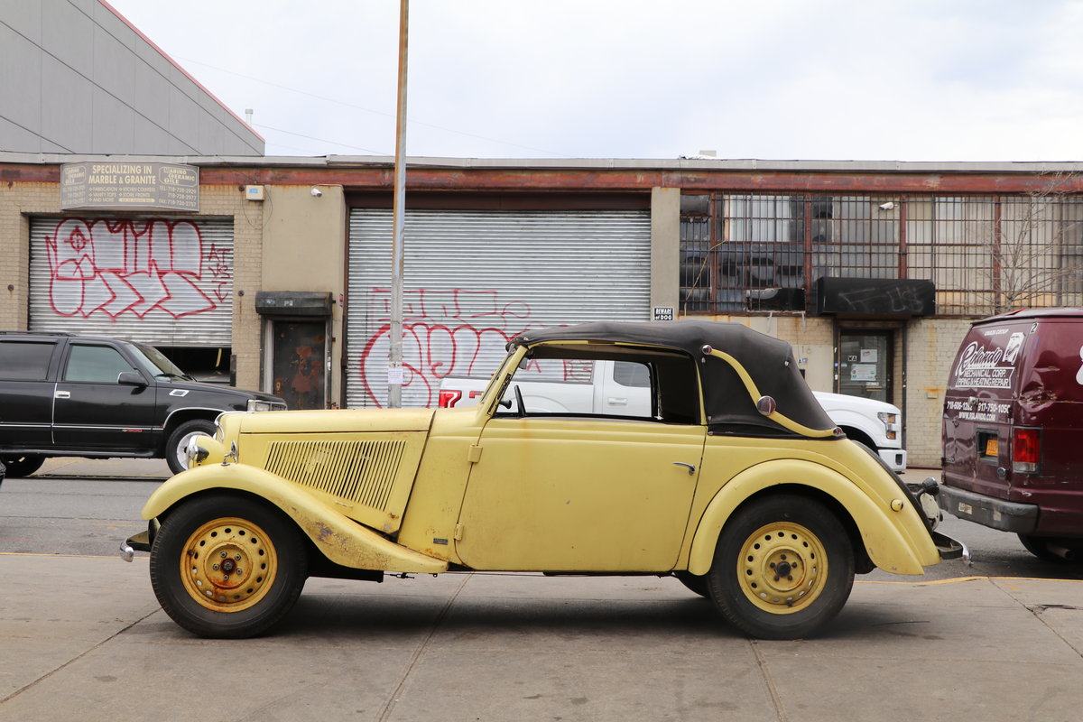 1939 Adler Trumpf Junior Convertible #22761 For Sale (picture 2 of 5)