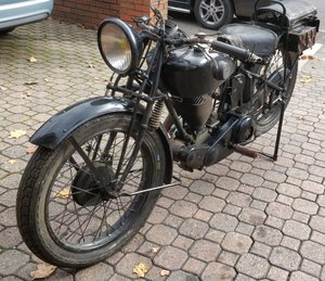 1927 Terrot 350cc. Very original. Good compression
