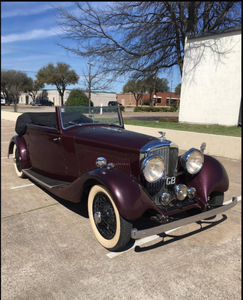 Picture of 1934 Bentley 3 1/2 Litre Drophead Coupe #21737 For Sale