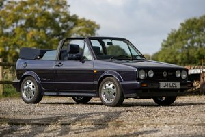 1991 Golf GTi Rivage Cabriolet - Charity Lot