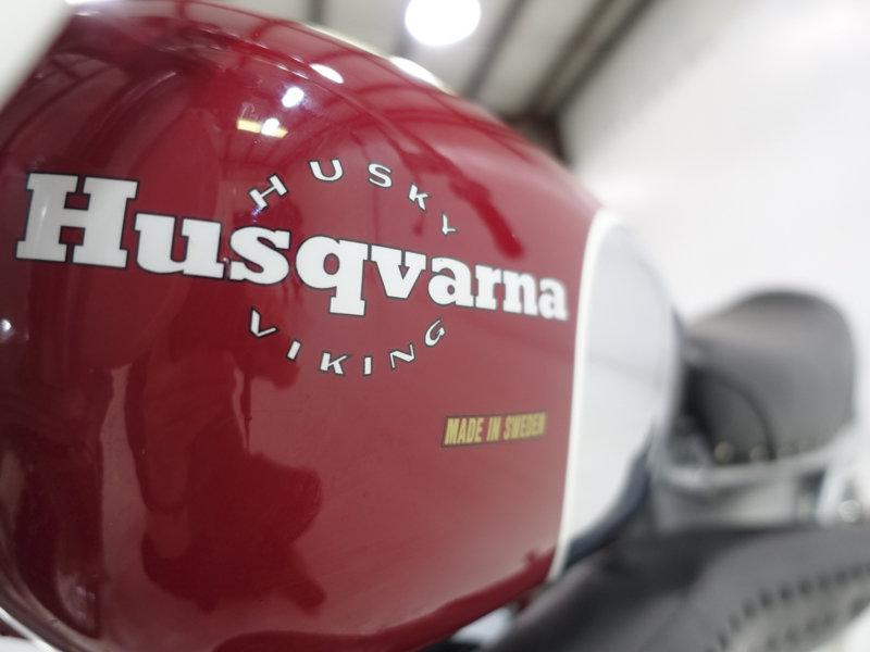 1968 Husqvarna 360 Viking - Flame Red For Sale (picture 4 of 6)