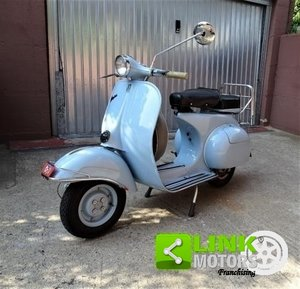 VESPA 125 VNB1 del 1960 TARGA ORO For Sale
