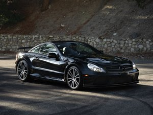 2009 Mercedes-Benz SL65 Black Series  For Sale by Auction