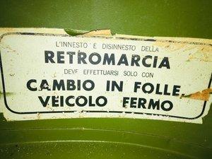 1968 Innocenti - lambro 550n