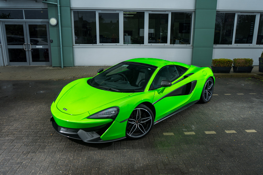 MCLAREN 570S SPIDER 2018 For Sale (picture 1 of 6)