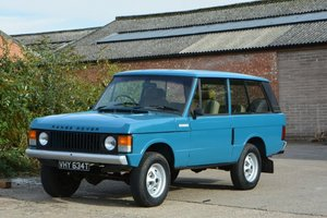 1979 Range Rover Two-Door Classic For Sale by Auction