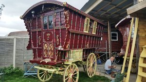 1904 Romany Ledge Wagon by Billy Wright For Sale by Auction