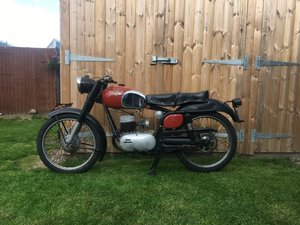 1957 Bianchi Mendola 125 For Sale by Auction