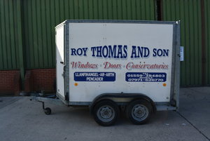 2003 Ifor Williams Box Trailer BV85G For Sale by Auction