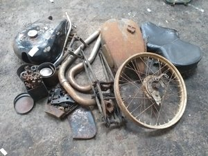 Motorcycle Parts For Sale by Auction