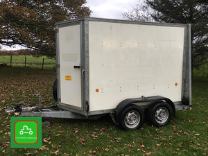 IFOR WILLIAMS BV85g 8X5 BOX TRAILER VERY TIDY 2012 DEALER PX SOLD