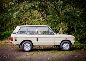 1972 Range Rover Suffix A SOLD by Auction