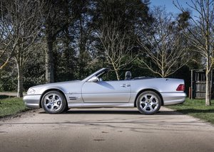2002 Mercedes-Benz SL500 Silver Arrows For Sale by Auction