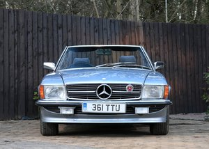1983 Mercedes-Benz 380 SL Roadster SOLD by Auction