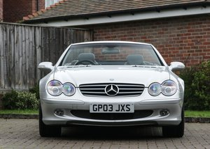 2003 Mercedes-Benz SL 350 SOLD by Auction