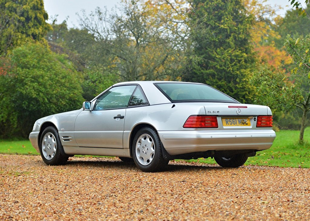 1997 Mercedes-Benz SL 320 Roadster SOLD by Auction (picture 1 of 6)