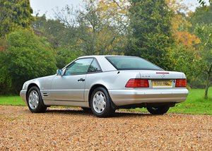 1997 Mercedes-Benz SL 320 Roadster SOLD by Auction