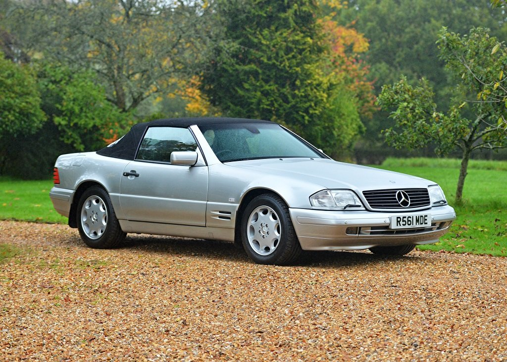 1997 Mercedes-Benz SL 320 Roadster SOLD by Auction (picture 3 of 6)