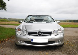 2003 Mercedes-Benz SL350 Roadster SOLD by Auction