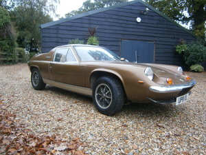 1973 LOTUS EUROPA SPECIAL BIG VALVE 5 SPEED **SOLD** TWO OWNERS  For Sale