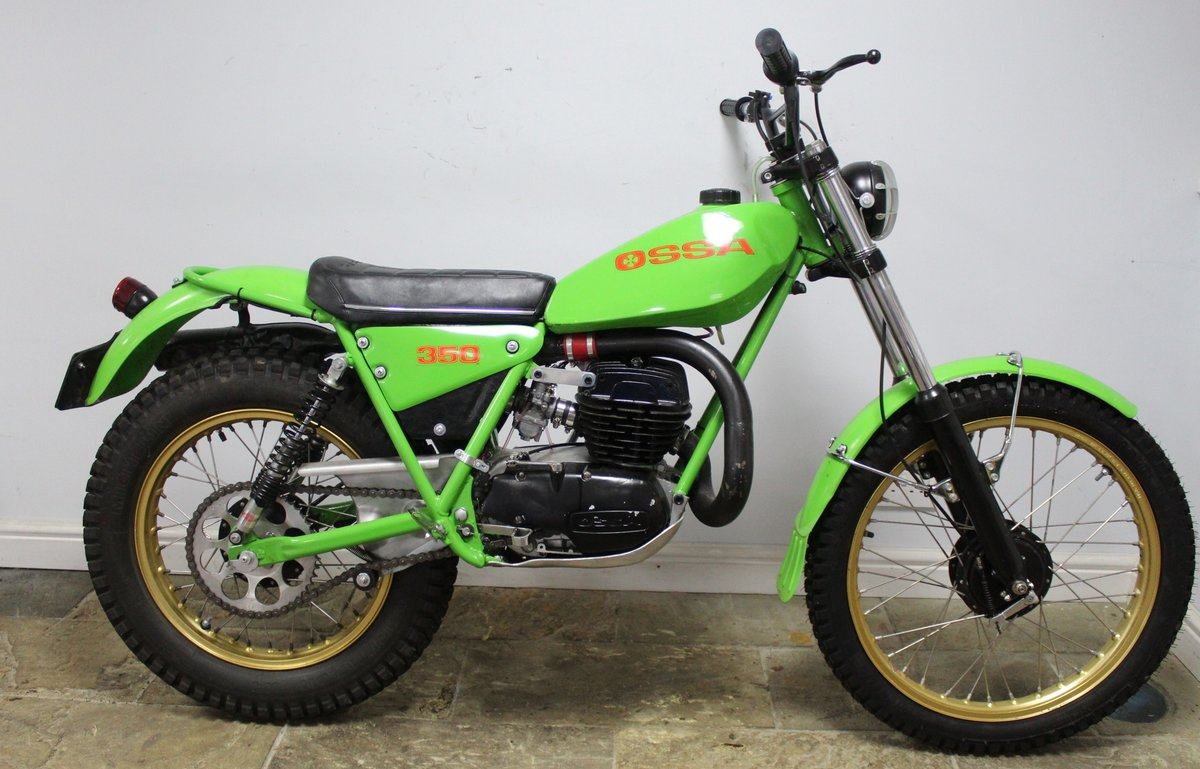 1978 OSSA 302 cc With  5 Speed Gear Box  Road registered SOLD (picture 1 of 6)