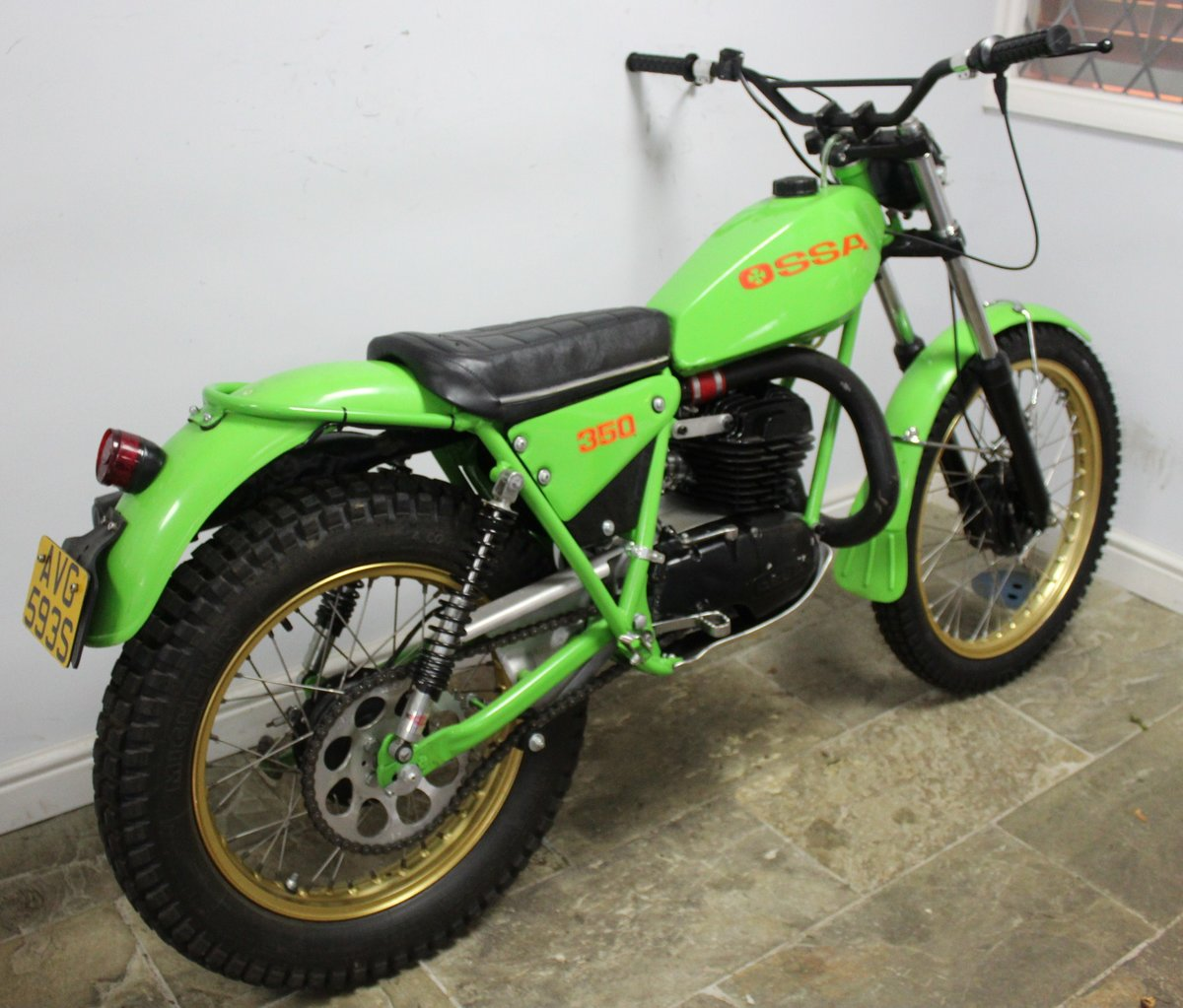 1978 OSSA 302 cc With  5 Speed Gear Box  Road registered SOLD (picture 2 of 6)