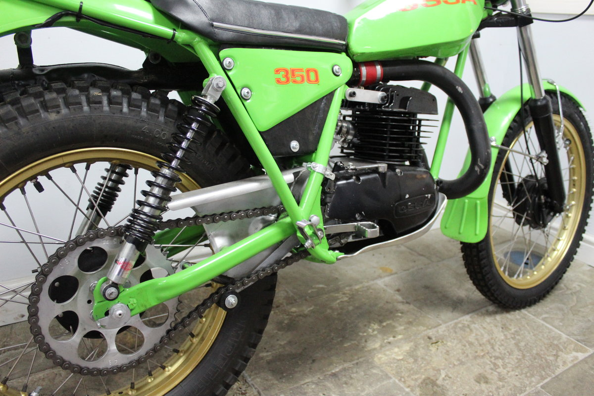 1978 OSSA 302 cc With  5 Speed Gear Box  Road registered SOLD (picture 4 of 6)