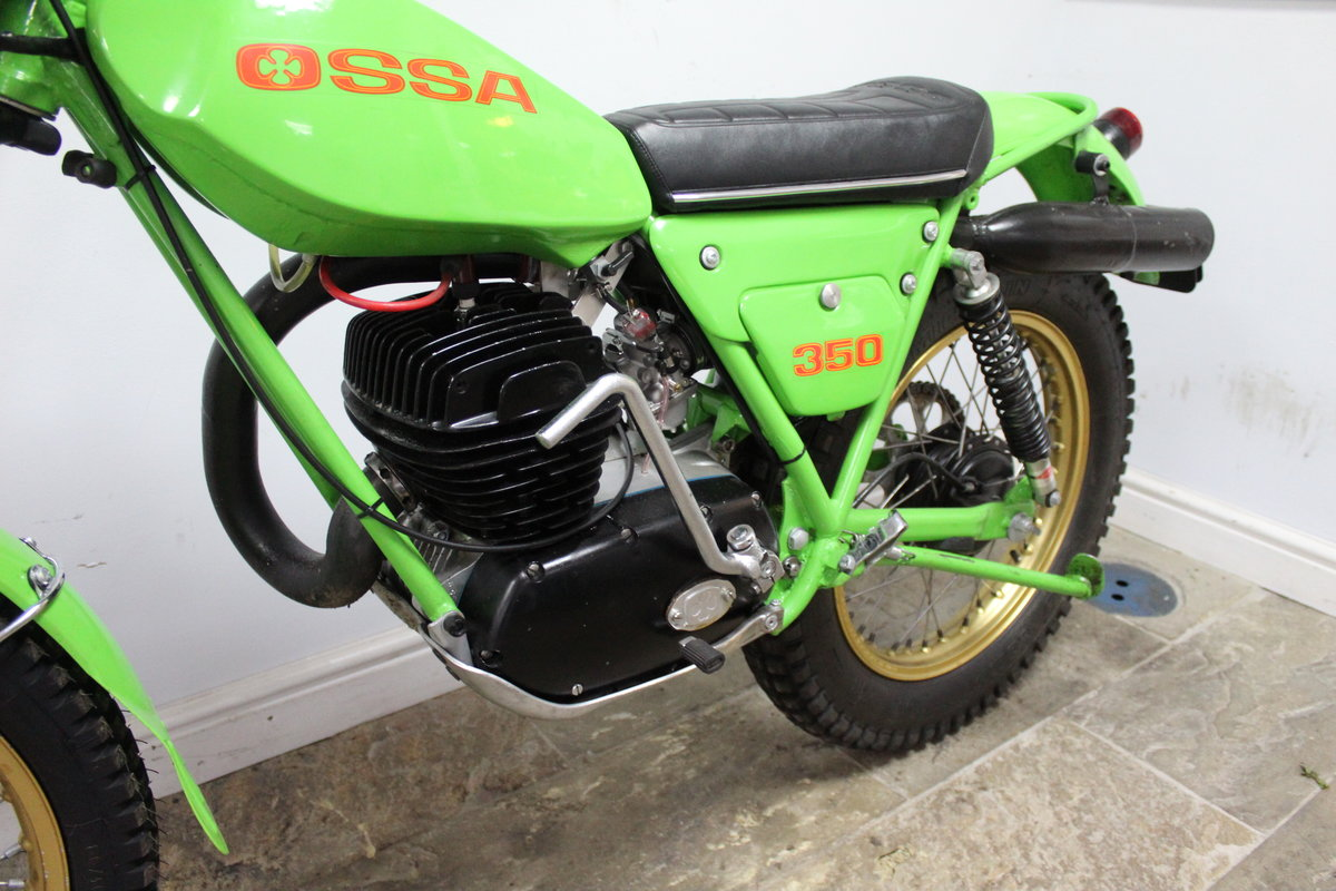 1978 OSSA 302 cc With  5 Speed Gear Box  Road registered SOLD (picture 6 of 6)