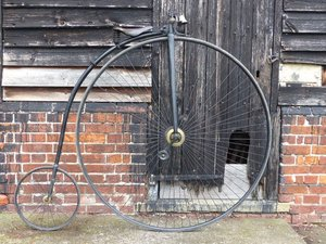 c.1884 Penny Farthing 54 SOLD